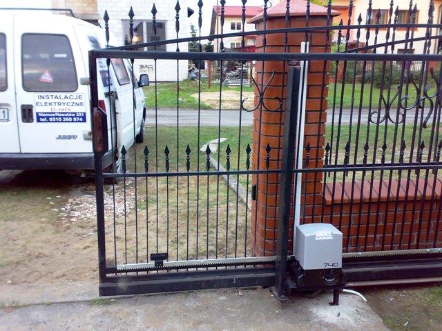 Zupełnie nowe Montaż napędów do bram - El-Prus OU59